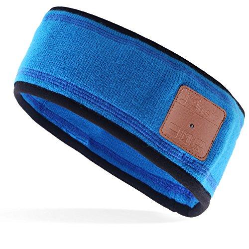 Mydeal Drahtlose Bluetooth-Mütze mit Musik Strickmütze mit Kopfhörer-Headset, Stereolautsprecher und Mikrofon, Hände frei für Outdoor-Sportarten, Laufen, Joggen, Skifahren, Snowboard