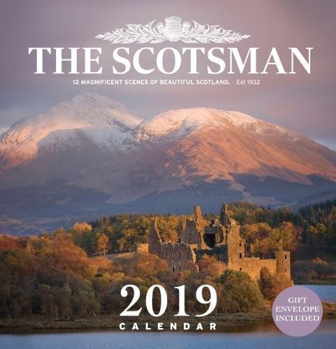 Scotsman Wall Calendar 2019 por The Scotsman
