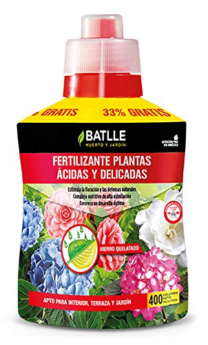 Abonos - Fertilizante Plantas Acidas Botella 400ml - Batlle