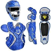 Under Armour W/mate de paquetes de receptor de béisbol profesional de adultos casco, Royal