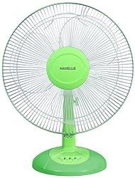 Havells Swing LX 400mm Table Fan (Green)
