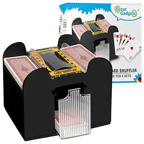 GreatGadgets 2128 Kartenmischmaschine für 6 Decks Test