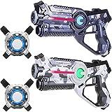 Die besten Laser Tag - Light Battle Laserspiel: 2X Laserpistole 2X Laser Tag Bewertungen