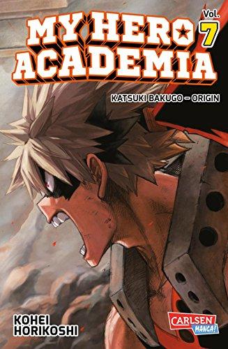 Buchcover My Hero Academia 7: Die erste Auflage immer mit Glow-in-the-Dark-Effekt auf dem Cover! Yeah!