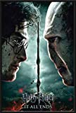 Empire Harry Potter Poster 7 Part 2, Plastic Frame Black, 24 x 36 inches