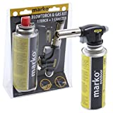51CKVETaT0L. SL160  - BEST BUY# Marko Butane Gas Powered Blowtorch Cooking Catering Creme Brulee Culinary Tarts Pies Tool Reviews