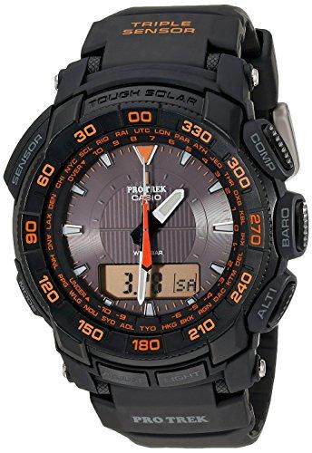 Casio - Armbanduhr Pro Trek Solar Dreifach Sensor 100Meter PRG-550-1A4