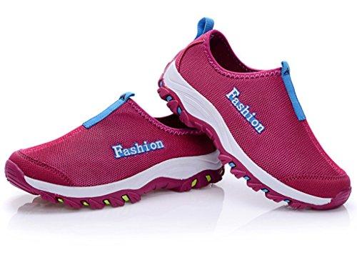 Fangsto  Sneakers,  Unisex Erwachsene Sneaker Low-Tops Weinrot