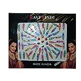 Bindis 65 Stück Stirnschmuck Kärtchen Karte selbstklebend Bollywood Schmuck Indien Hinduismus