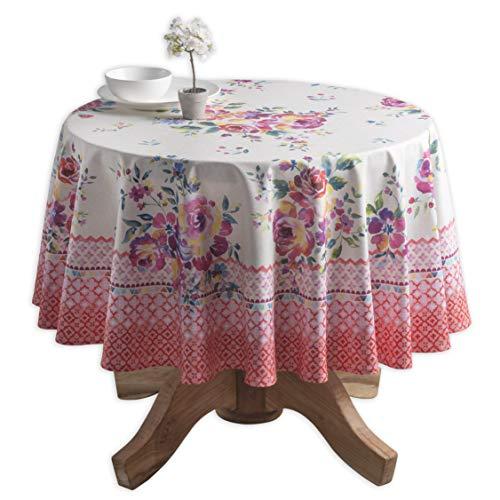 Maison d' Hermine Rose Garden 100% Baumwolle Tischdecke 69