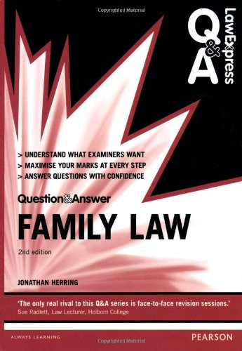 Law Express Question and Answer: Family Law (Law Express Questions & Answers)