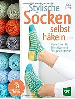 Extrem Socken häkeln: Schnell & einfach mit der neuen Stufen-Methode JI04