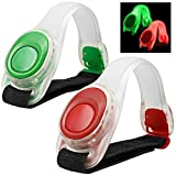 2pcs / pack MAXIN Bras léger lumineux LED, Silicone...