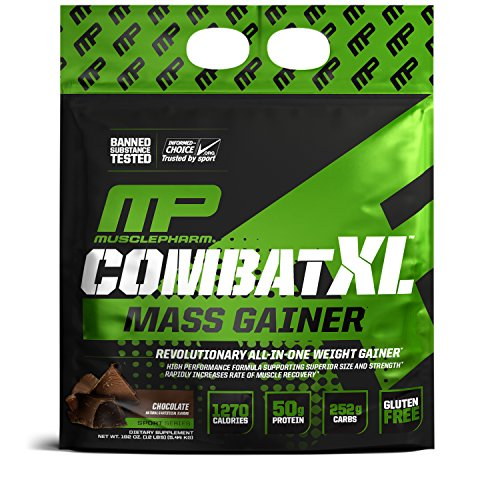 Muscle Pharm XL Mass Gainer Combat - 5.44 kg Chocolate