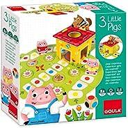 Goula- Juego Los 3 cerditos - Juego de mesa preescolar a partir de 2 años