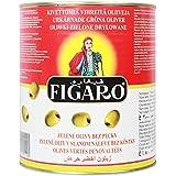 Figaro Pitted Green Olives Bulk, 3 Kg [Horeca Pack]