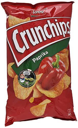 Lorenz Snack World Crunchips Paprika, 20er Pack (20 x 175 g)