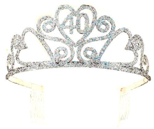 Forum Novelties zum 40. Geburtstag Glitter Tiara -