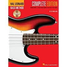 Hal Leonard Bass Method - Complete Edition: Books 1, 2 and 3 Bound Together in One Easy-to-Use Volume! by Ed Friedland (1996-05-01)