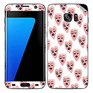 Theskinmantra Heart Faces SKIN/STICKER/DECAL for Samsung Galaxy S7