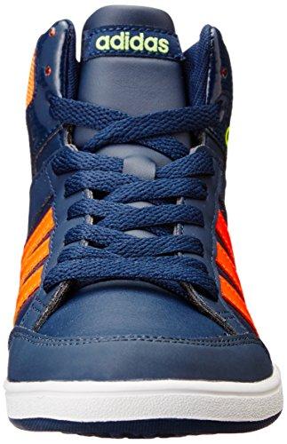 adidas neo HOOPS MID K Schuhe Kinder Sneaker Turnschuhe Blau B74655 Blau