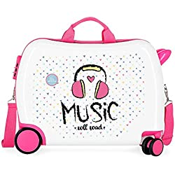 Roll Road Music Bagage enfant 50 centimeters 34 Multicolore (Multicolor)