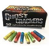 500 Stk. Ghost Cracker knallbunte zylindrische Knallerbsen mit Plastikkörper - Knallteufel Feuerwerk Neuheit