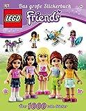 LEGO Friends Das große Stickerbuch: Über 1000 tolle Sticker