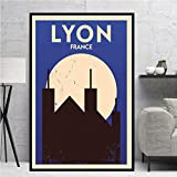 Eleanor Lyon Moderne Malerei Welt Reisen Stadt Landschaft