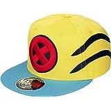 Marvel Wolverine Logo y Garra de Slash Snapback Cap (Amarillo / Azul)