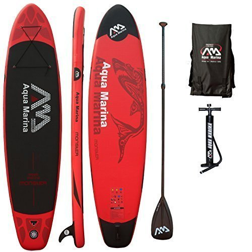 AQUA MARINA, MONSTER+CARBON-Paddle, Paddle Board, SUP, 330x75x15 cm -