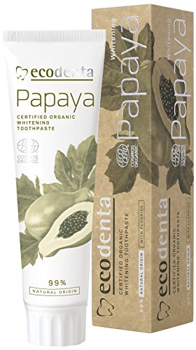 ecodenta Whitening Papaya Zahnpasta 100ml