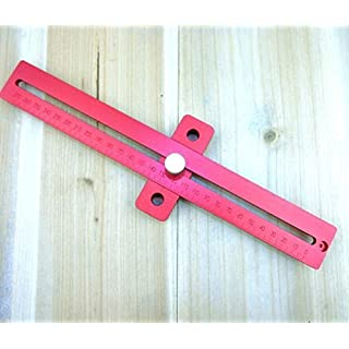 Holz-quadratisch Aluminium Legierung gekreuzte Lineal Holz-T Typ Anreißnadel Messwerkzeuge