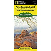 National Geographic Trails Illustrated Map Paria Canyon,