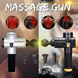 Electric Massage Gun Luckyfine Muscle Massage Relax Gert Hand Massage Device With Deep Tissue Muscle Massage Device Body Relax Muscle Physiotherapy