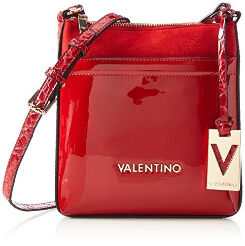valentino-luxor-sacs-baguette-femme-rouge-rot-rosso-18x21x2-cm-b-x-h-x-t