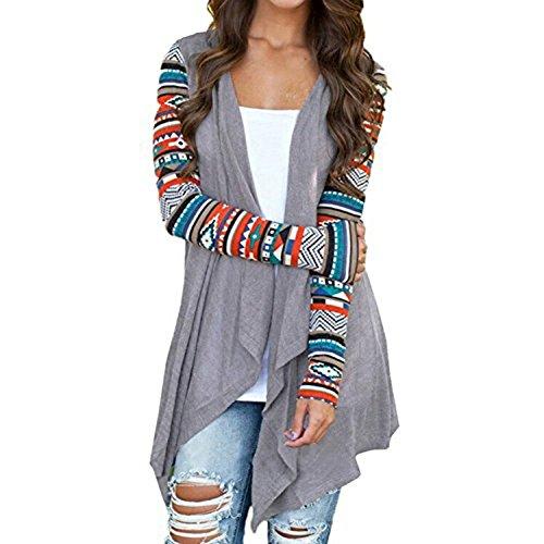 Kidslove-Damen-Blazer-Herbst-Frhling-Fashion-blazer-damen-Cover-Damen-Kimono-Cardigan-Outwear
