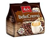 Melitta Gemahlener Röstkaffee in Kaffeepads, 10 x 16 Pads, 100% Arabica, vollmundig und intensiv, mittlerer Röstgrad, Stärke 3 bis 4, BellaCrema