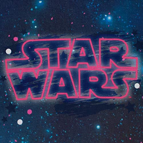 51CKjLuLLXL - STAR WARS Pijamas de Manga Larga para niñas La Guerra de Las Galaxias Púrpura 7-8 Años