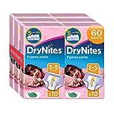 Huggies DryNites Pyjama Pants for Girls, Age 3-5 - 60 Pants Total