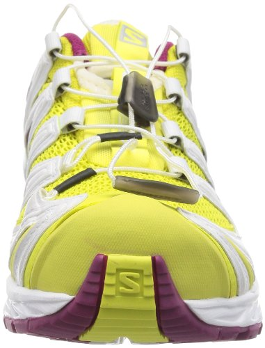 Salomon  XA PRO 3D, Chaussures de Trail femme Jaune - light hay yellow/white/mystic purple