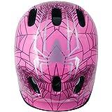 Toddler casco, Multi-Sport ligero cascos de seguridad para ciclismo/skateboard/Scooter/Skate patinaje en línea/patinar Protective Gear para niños/niñas (3–8años)., rosa