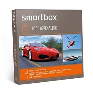 SMARTBOX - Coffret Cadeau - Défi adrénaline