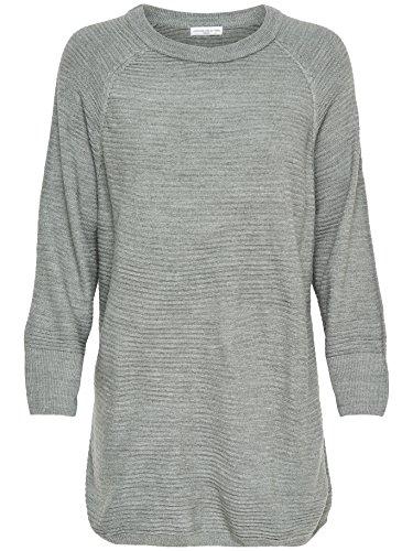 JACQUELINE de YONG - Pull - Femme gris clair