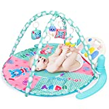 Best Baby Play Gyms - WloveTravel Baby Play Gym Mat, Kick and Play Review