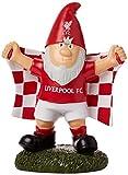 Liverpool FC Offizielle Champ Fußball Crest Garden GNOME Gr. Einheitsgröße, weiß / rot