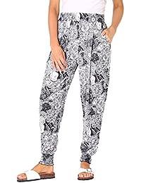 KRISP® Femme Pantalons Sarouel Ample Différents Modèles