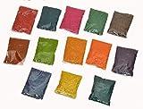 13 Packets of Rangoli Colours