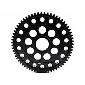 HOT-RACING SYET264T Steel Spur Gear 64T 32P Yeti/SCX by Hot Racing