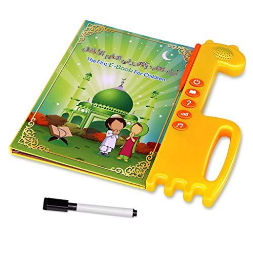LyGuy Islamisches Ebook scherzt englisches arabisches Berührungsflächen-Sprachlernbuch Al-Quran E-Buch Baby-Spielzeug-frühe Bildung Ebook und Stifte (Quran-arabischen)